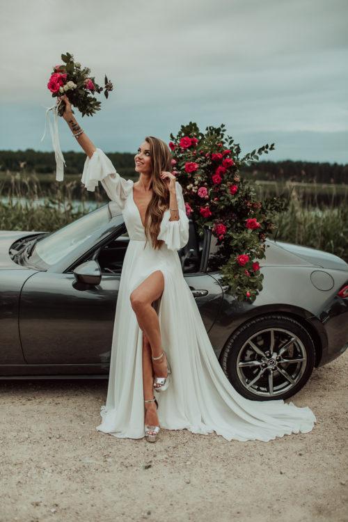 Amelii wedding dress - Tropical Cherry