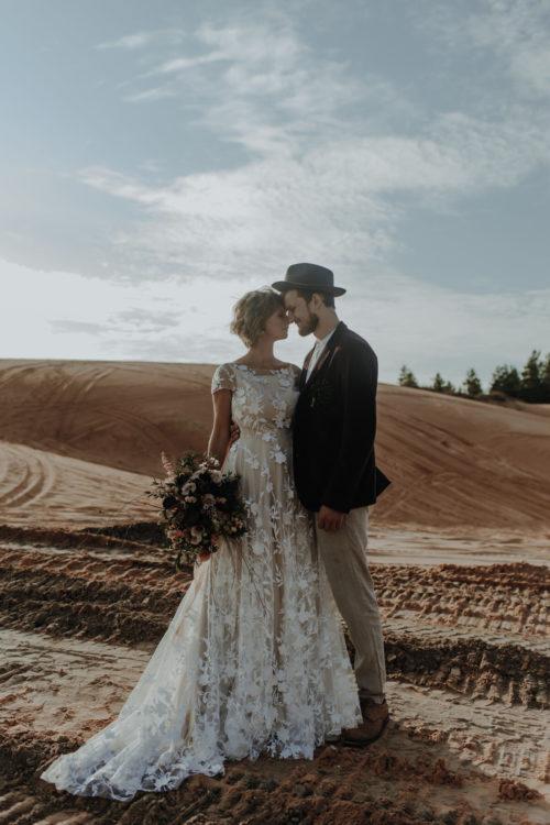 Amelii Wedding Dress - Desert Flower
