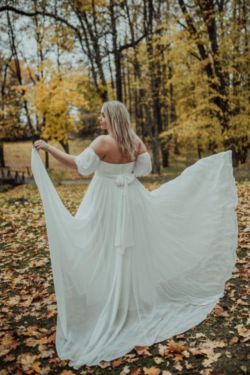 Amelii wedding dress - Chiffon Dream
