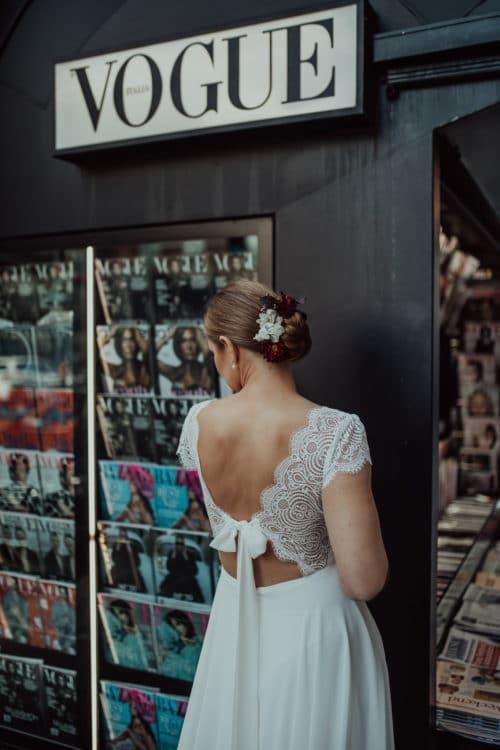 Amelii wedding dress French Passion