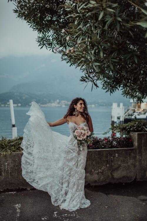 Amelii Wedding Dress - Cloudy Romance