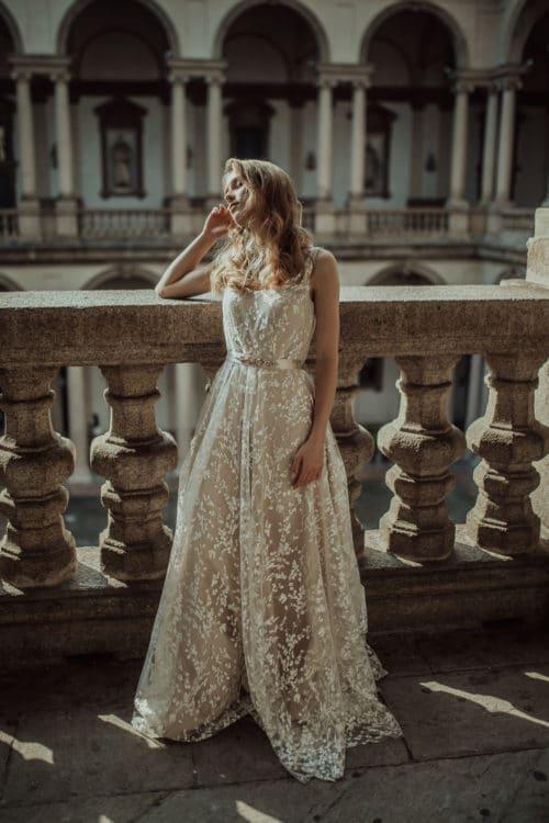 Amelii wedding dress - Delicate Leaf Charm