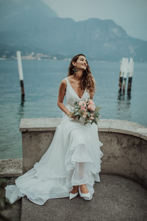 Amelii wedding dress - The Romance of Shifon