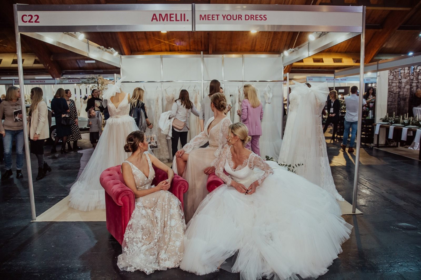 "Amelii Astonishes At ""Riga Wedding Expo 2020"""