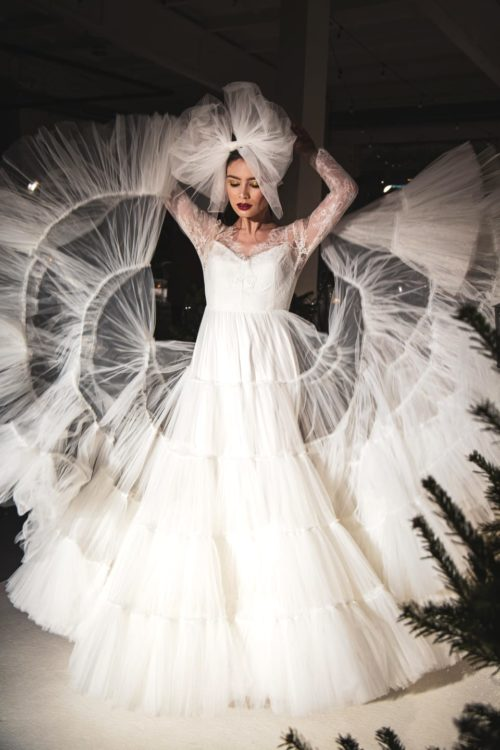 Peacock Amelii wedding dress